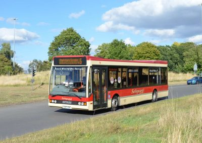 Optare Excel L1150 - 39 Seats - Purchased: October 2001