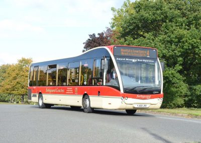 Optare Versa - 37 Seats - Purchased January 2011