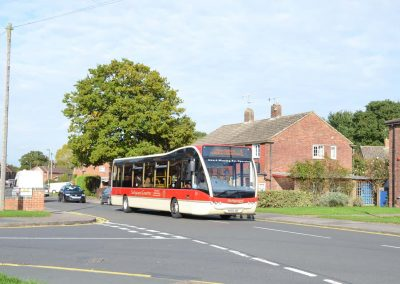 Optare Versa - 37 Seats - Purchased: October 2008